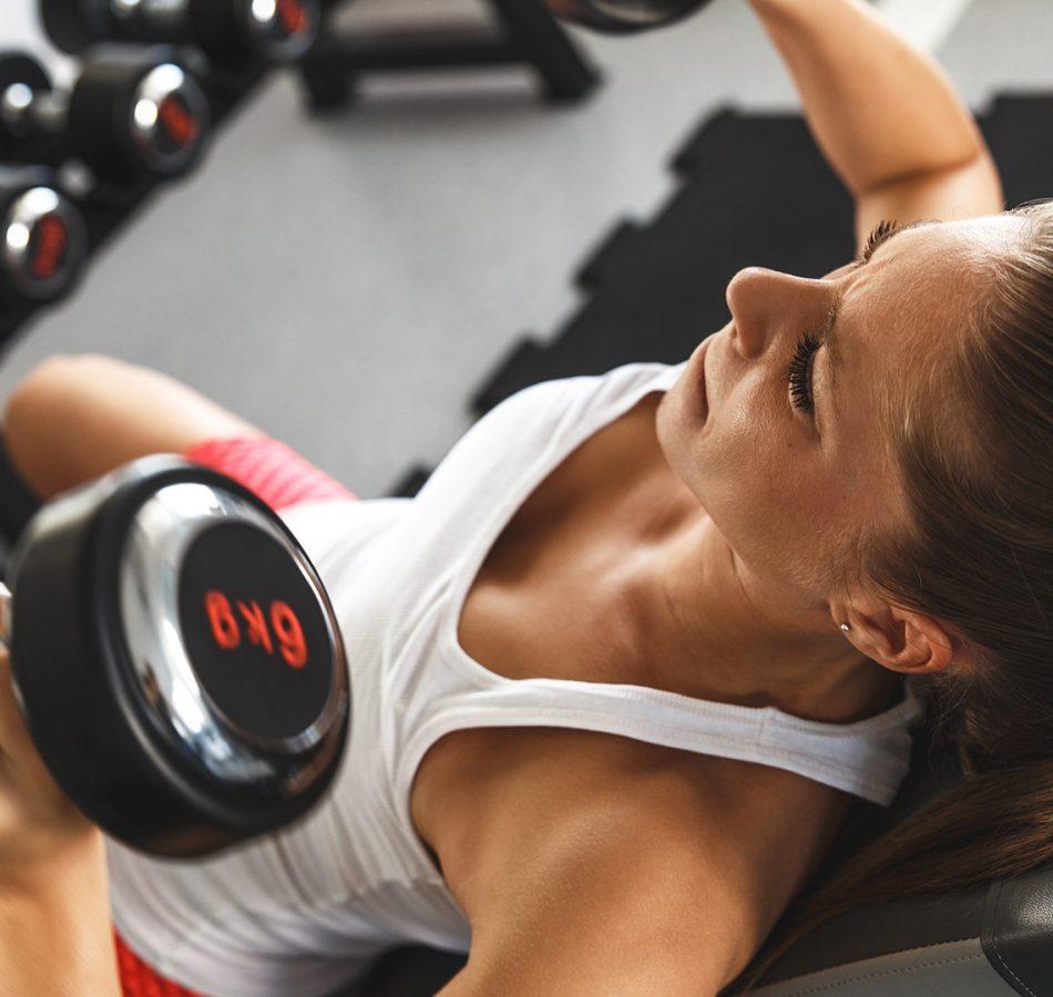Woman-Weight-Training